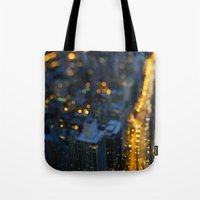 City Nights #1 Tote Bag