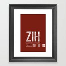 ZIH Framed Art Print