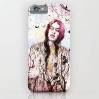iPhone & iPod Case featuring Rise Above by Veronika Weroni Vajdová