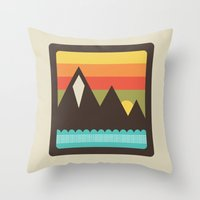 Midsummer's Eve Throw Pillow