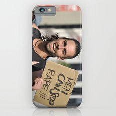 Men can stop rape iPhone 6 Slim Case