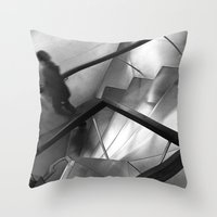 Missing Madrid Throw Pillow