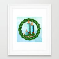 No Need For Words Peace … Framed Art Print