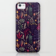 Botanical pattern iPhone 5c Slim Case