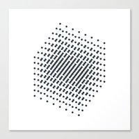 #512 2^9 – Geometry Daily Canvas Print