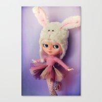 Funny Blythe doll Canvas Print