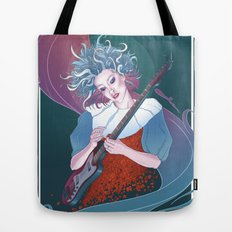 Our Lady of Rock Tote Bag