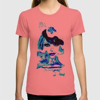 Water Women_02 Womens Fitted Tee Pomegranate SMALL
