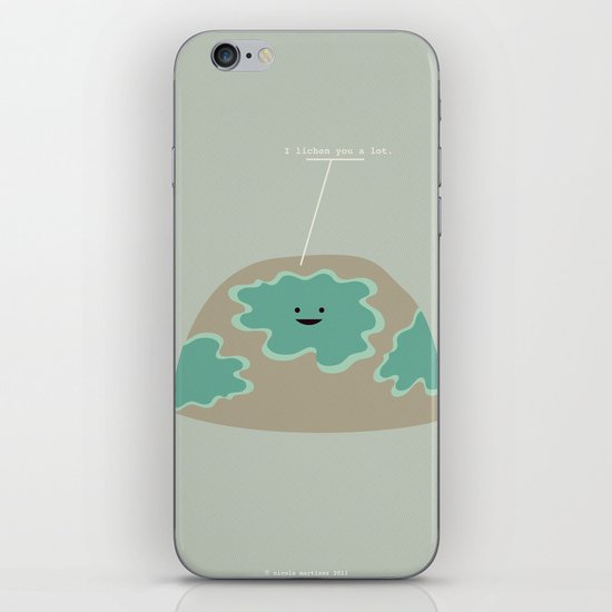 I Lichen You a Lot iPhone & iPod Skin