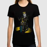 Sons Of Monarchy Womens Fitted Tee Black SMALL