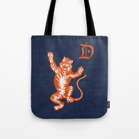 An Original Detroit Tiger's Logo (unofficial, of course) Tote Bag