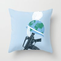 'Peace Within' Throw Pillow