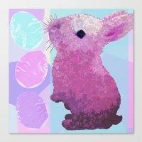 Peepster Bunny Canvas Print