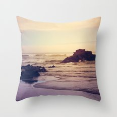The Ocean Floor Throw Pillow