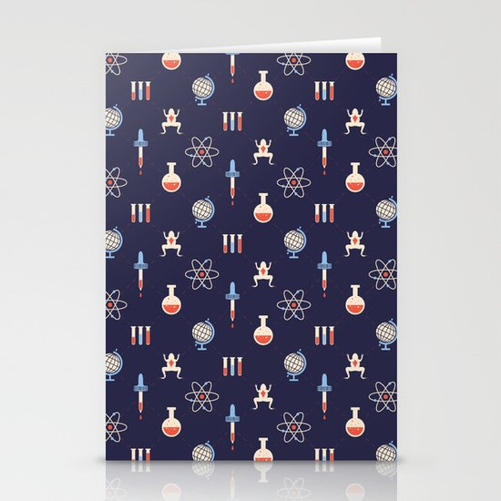 Science Stationery Card