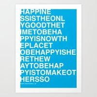 Robert Ingersoll - Happi… Art Print