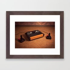 I dreamt in pixels that night. Framed Art Print