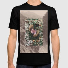 UNTITLED Black SMALL Mens Fitted Tee