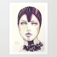 Fashion Illustration  Art Print