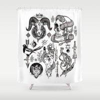 Lesser Alchemy Shower Curtain