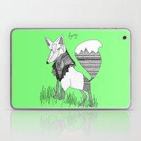 Foxy Fox Laptop & iPad Skin