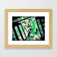 Zeebah Framed Art Print