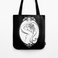 Sea Life Oval Tote Bag