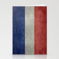 The National Flag of France Stationery Cards