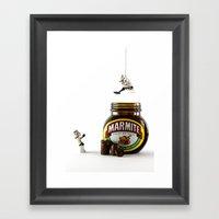 To Any Lengths Framed Art Print
