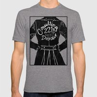 The Consulting Detective Mens Fitted Tee Tri-Grey SMALL