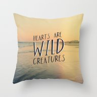 Wild Creatures Throw Pillow