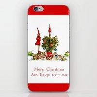 Christmas wishes iPhone & iPod Skin