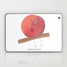 I'm peachy keen on you Laptop & iPad Skin