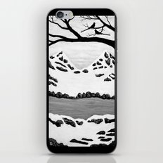 Scissortail Winter iPhone & iPod Skin
