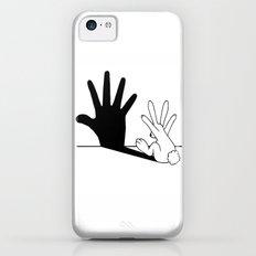 Rabbit Hand Shadow Slim Case iPhone 5c