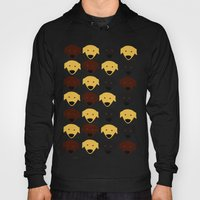 Labrador Dog Pattern Hoody