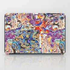 Abstract Glass Blocks iPad Case