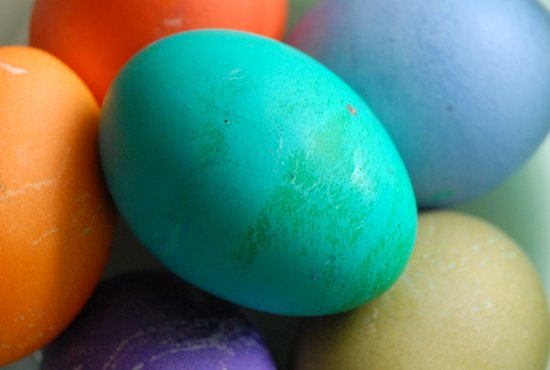 Dyed Eggs Art Print