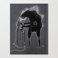 Computa Dood Canvas Print