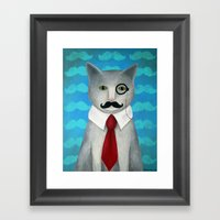 Sir Conrad Pennyworth II… Framed Art Print