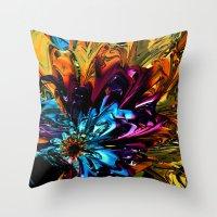 A Little Splash of Color Throw Pillow