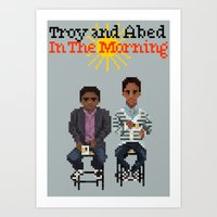 Troy And Abed In The Mor… Art Print