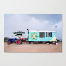 Happy Caravan Canvas Print