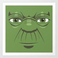 Yoda - Starwars Art Print