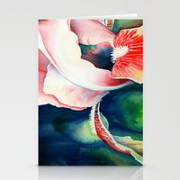 Tropical Iris Stationery Cards