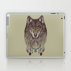 Wind Catcher Wolf Laptop & iPad Skin