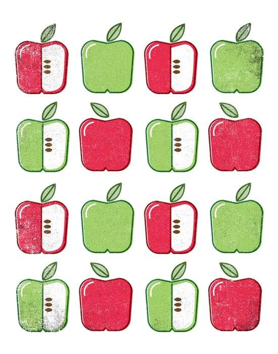 APPLE SMAPPLE DAPPLE HAPPLE PAPPLE Art Print