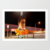 James Dean Fly By Night Art Print