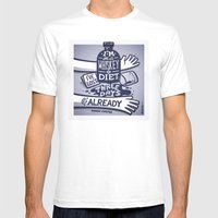 Whiskey Mens Fitted Tee White SMALL