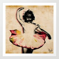 Danz Art Print
